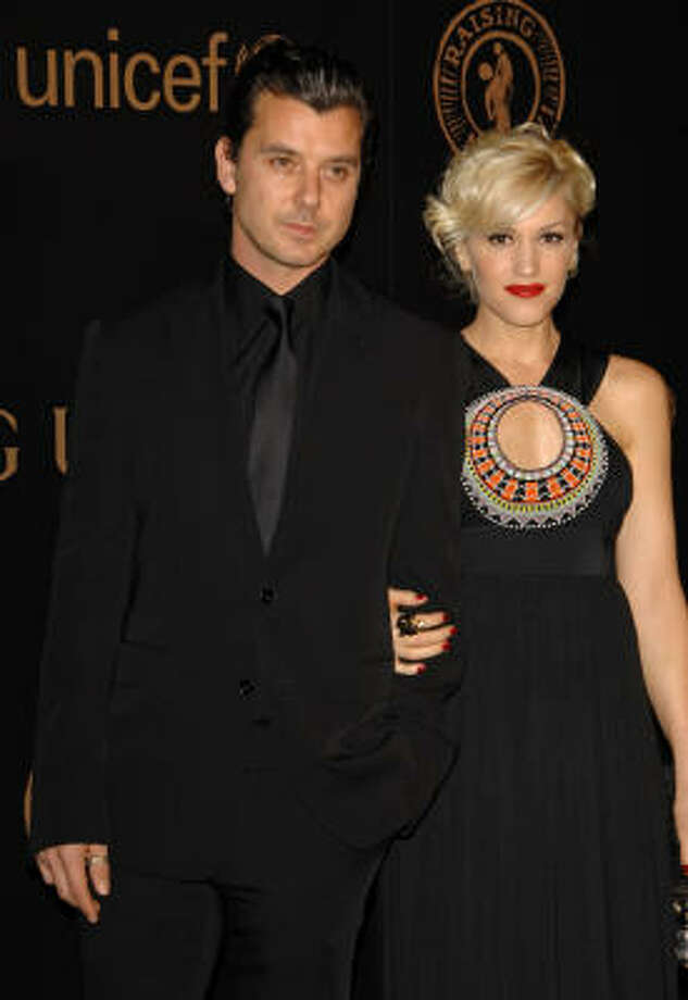 Gavin Rossdale and Gwen Stefani:Kids' names: Kingston James and Zuma Nesta Rock (also Daisy Lowe) Photo: Evan Agostini, AP