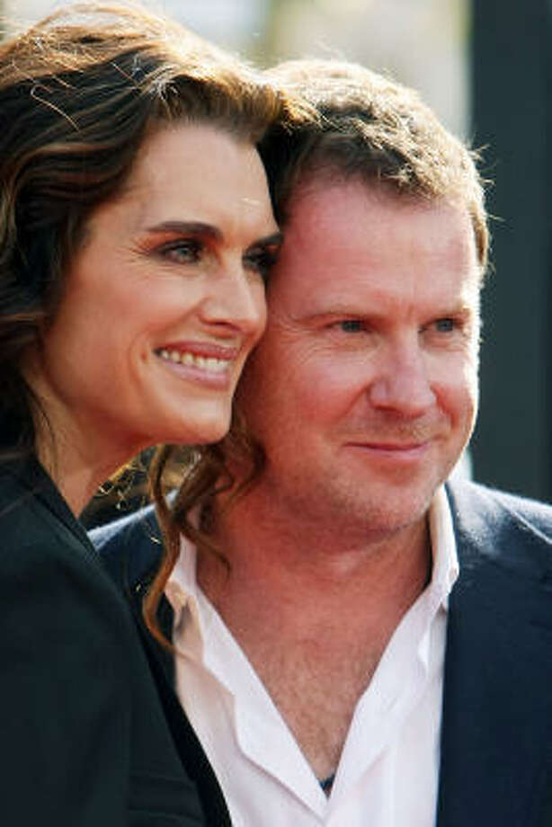 Brooke Shields and Chris Henchy:Kids' names: Rowan Frances and Grier Hammond Photo: Kristian Dowling, Getty Images