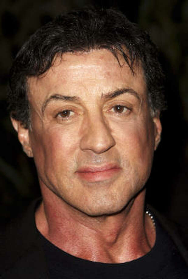 Sylvester Stallone:Kids' names: Sage Moonblood, Seargeoh, Sophia Rose, Sistine Rose and Scarlet Rose Photo: Dave Hogan, Getty Images