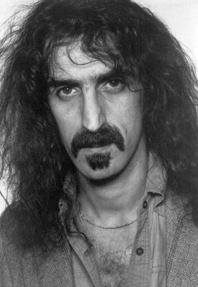 Frank (and Gail) Zappa:Kids' names: Moon Unit, Dweezil, Ahmet Emuukha Rodan and Diva Thin Muffin Pigeen. Photo: AP