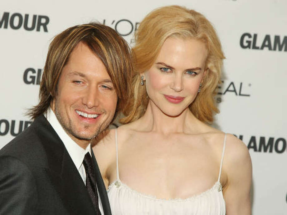 Nicole Kidman and Keith Urban:Kid's name: Sunday Rose Photo: Stephen Lovekin, Getty Images
