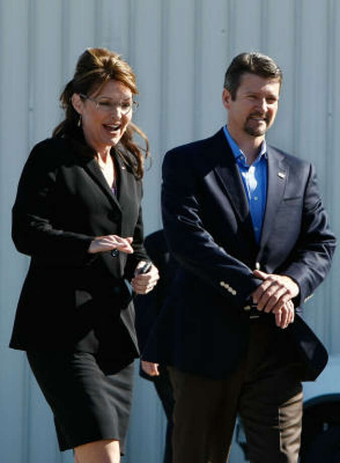 Sarah and Todd Palin