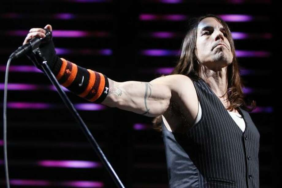 Anthony Kiedis (and Heather Christie):Kid's name: Everly Bear Photo: ALESSANDRO DELLA BELLA, AP