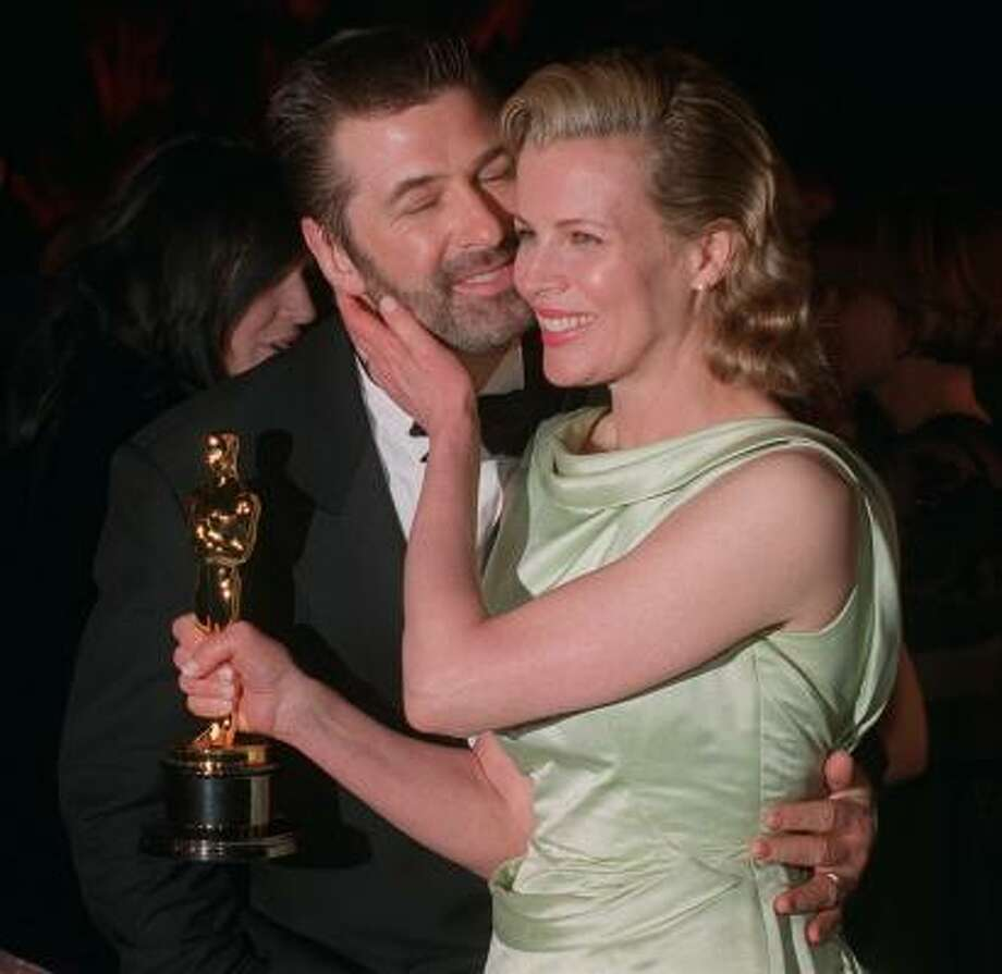 Alec Baldwin and Kim Basinger:Kid's name: Ireland Eliesse Photo: RENE MACURA, AP