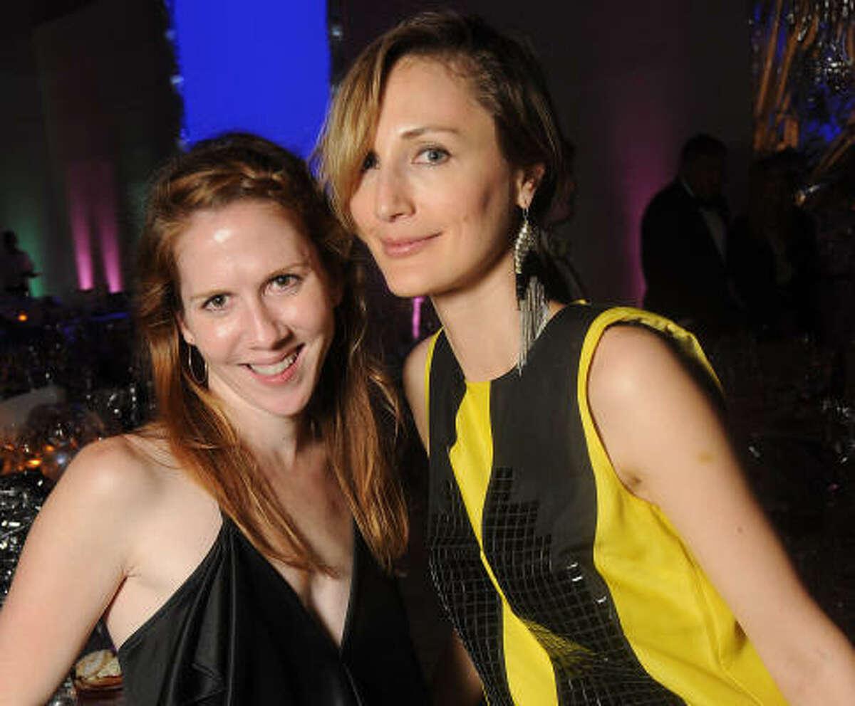 Jenny Antill and Tatiana Massey