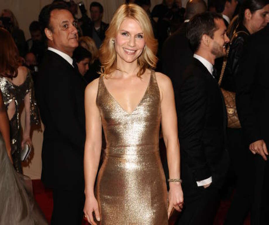 Claire Danes in Calvin Klein Photo: Peter Kramer, Associated Press