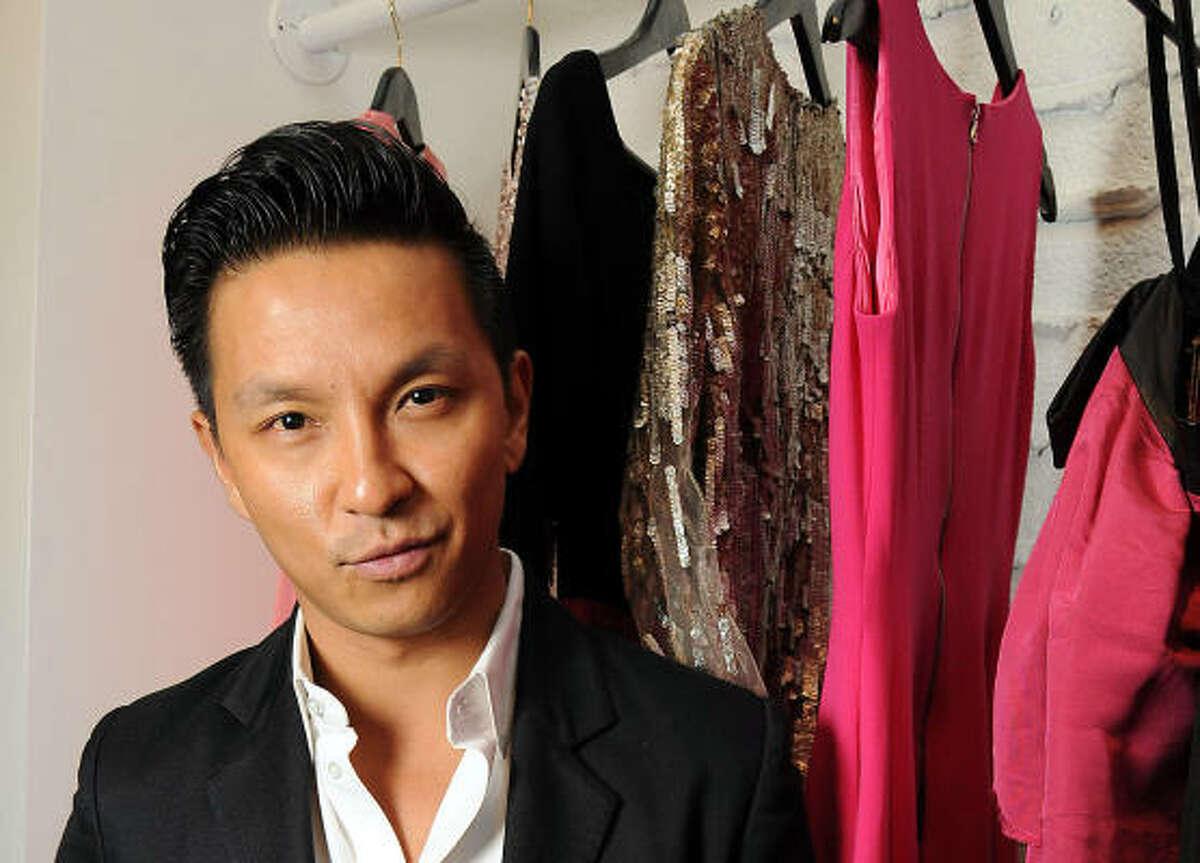 Designer Prabal Garung at the Atrium Boutique