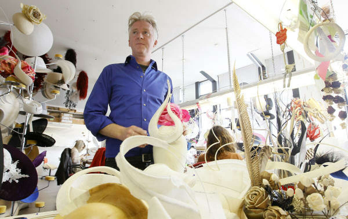 Philip Treacy, an Irish milliner based in London has been commissioned to do several of the royals' hats for the upcoming Will/Kate wedding, as well as the bridesmaid's headpieces.