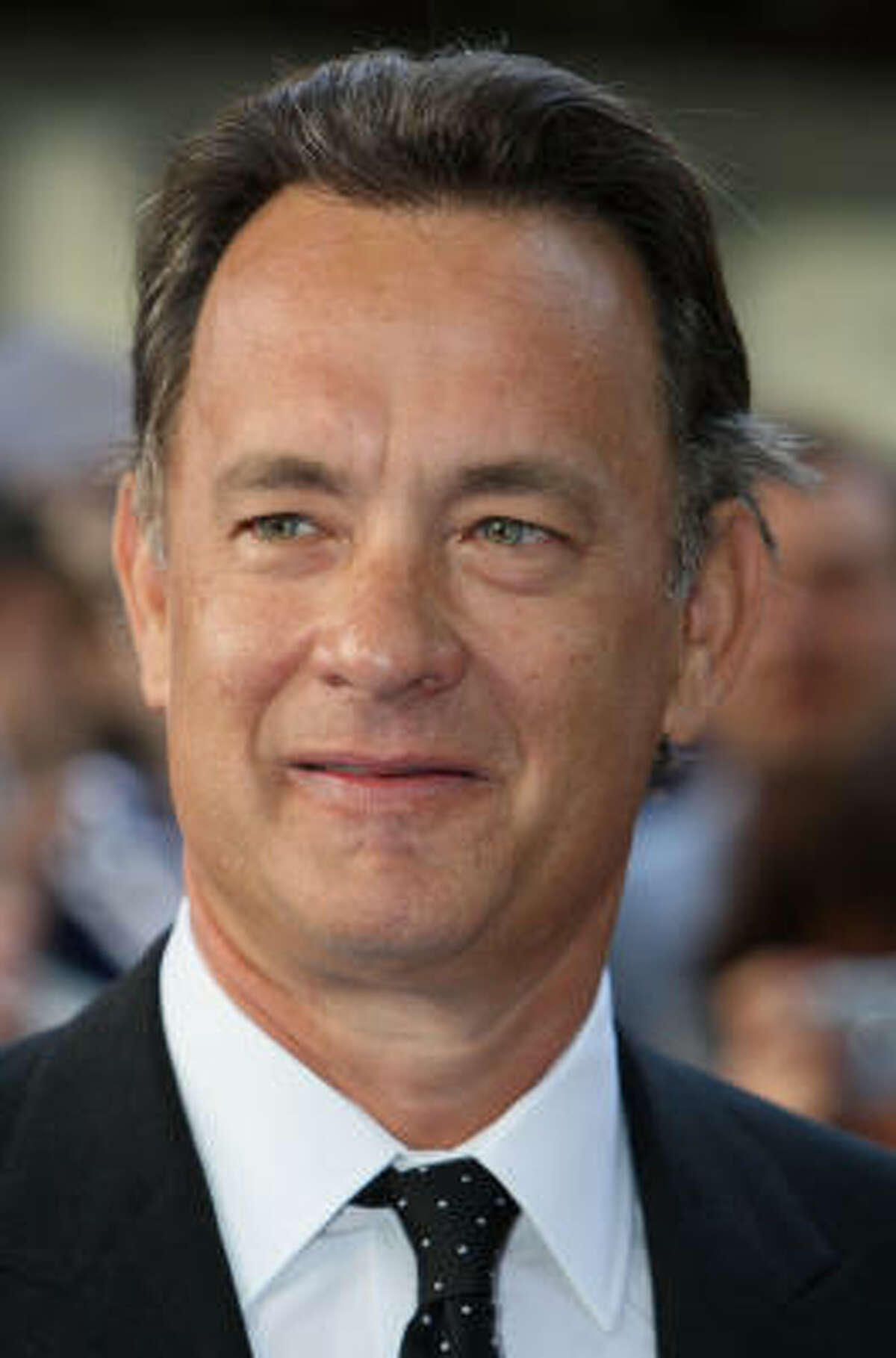 Tom Hanks Hanks has more ties to religion than his role as Dr. Robert Langdon in