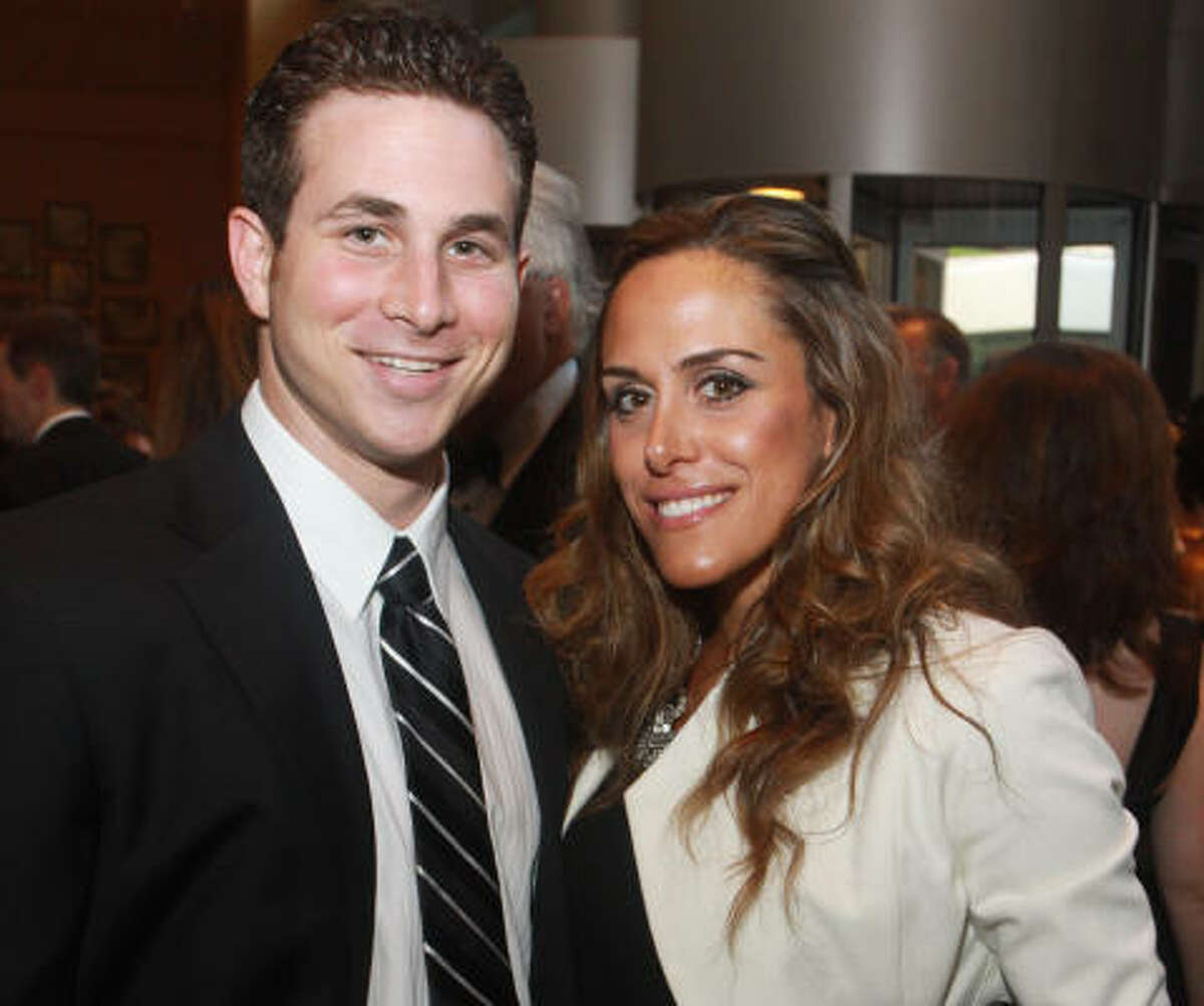 Blake Sonne and Sarah Ghandour