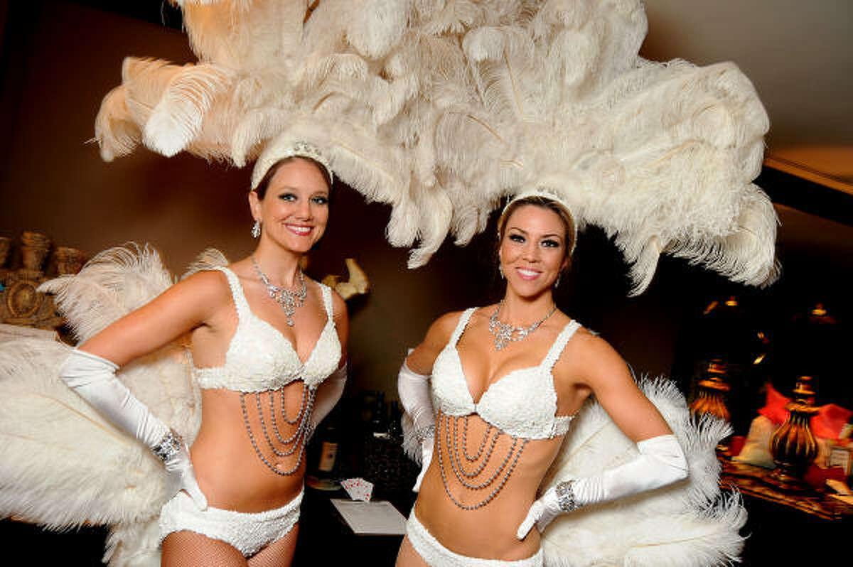 Angela Holmes and Brittney Layne