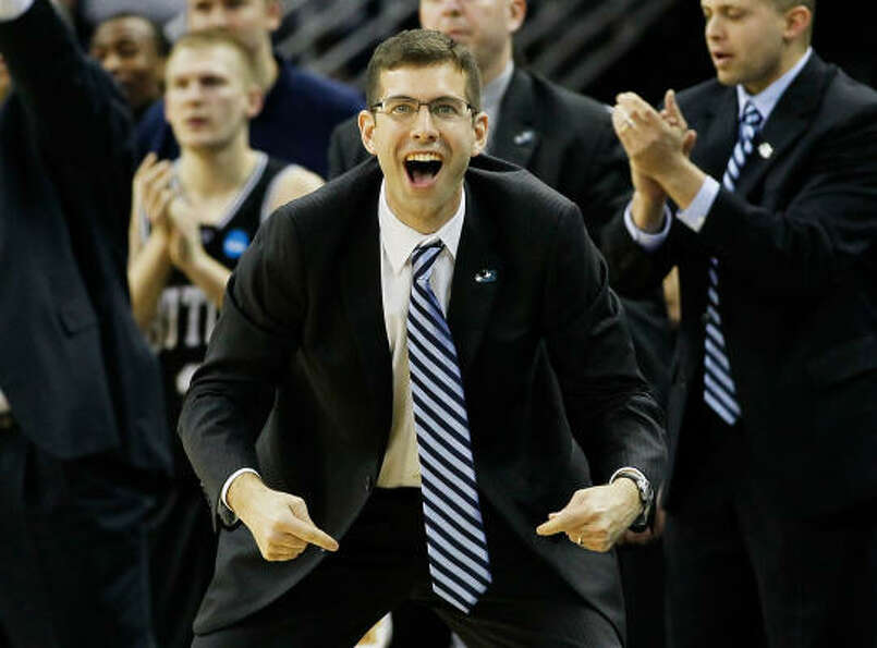 The coach   Butler's Brad Stevens, 34, is the youngest coach to reach