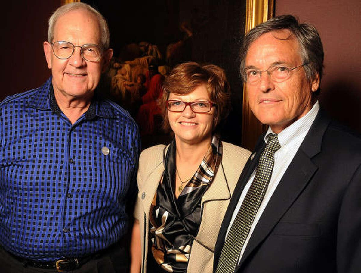 Clint Willour, Susan Knight and Robert Graham
