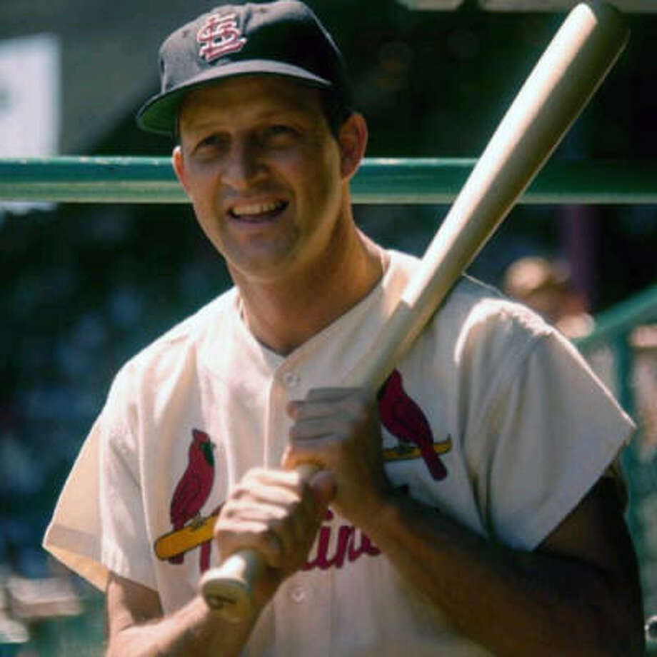 St. Louis Cardinals – Stan Musial Stan the Man was such a well-rounded offensive player, he led the league in batting seven times, on-base percentage six times and slugging six times. He batted .331 and ranks fourth in history in hits (3,630), sixth in RBI (1,951) and ninth in runs scored (1,949). And as hard as may be to fathom, Albert Pujols may one day pass him on merit. Through the age 30 season, Pujols ranks ninth in history in hits (1,900), fourth in homers (408), sixth in RBI (1,230), seventh in runs (1,186) and fifth in on-base-plus slugging (1.050). His OPS+, an adjusted figure in which 100 is the league is average, is 172 – exactly the same as Musial's at the same age. Photo: Special To The Chronicle