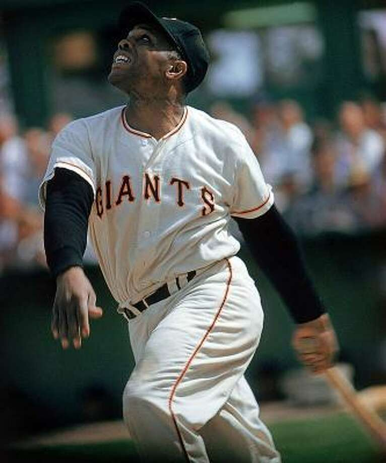 San Francisco Giants – Willie Mays One way to sum up his all-around game is that he led the league in homers four times and stolen bases four times and won 12 Gold Gloves. He'd have won more Gold Gloves, no doubt, but the award came into existence six years after his rookie season. Mays batted .302 and is fourth on the all-time home run list (660) and 10th in RBI (1,903). For those of a more sabermetric bent, Mays led his league in Wins Above Replacement 10 times. That's more than Mickey Mantle, Joe DiMaggio, Ty Cobb, Lou Gehrig, Honus Wagner and anybody else you'd care to name short of Babe Ruth. Photo: John G. Zimmerman, Sports Illustrated