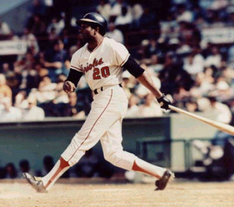Baltimore Orioles – Frank RobinsonYes, Brooks Robinson and Cal Ripken Jr. were distinguished Orioles lifers and first-ballot Hall of Famers. But we're talking about the greatest player, not the guy who should be Mr. Oriole. Ripken had The Streak, the two MVP awards, the 3,184 hits and 431 home runs. Brooks Robinson has a great case as the best defensive third baseman in history, and in his prime he generally was good for .270, 20 homers, 90 RBI. But Frank Robinson is on the short list of greatest all-around players in history: .294, 586 home runs (ninth in history), 1,812 RBI (20th), 1,829 runs (14th). And his six seasons with the Orioles were something to behold during a pitching-dominated era: .300, 179 home runs, 545 RBI, 555 runs scored, four World Series appearances, two World Series titles. Oh, and let's not forget his Triple Crown season of 1966, when he led the Orioles to a World Series title: .316, 49 homers, 122 RBI. Photo: Special To The Chronicle