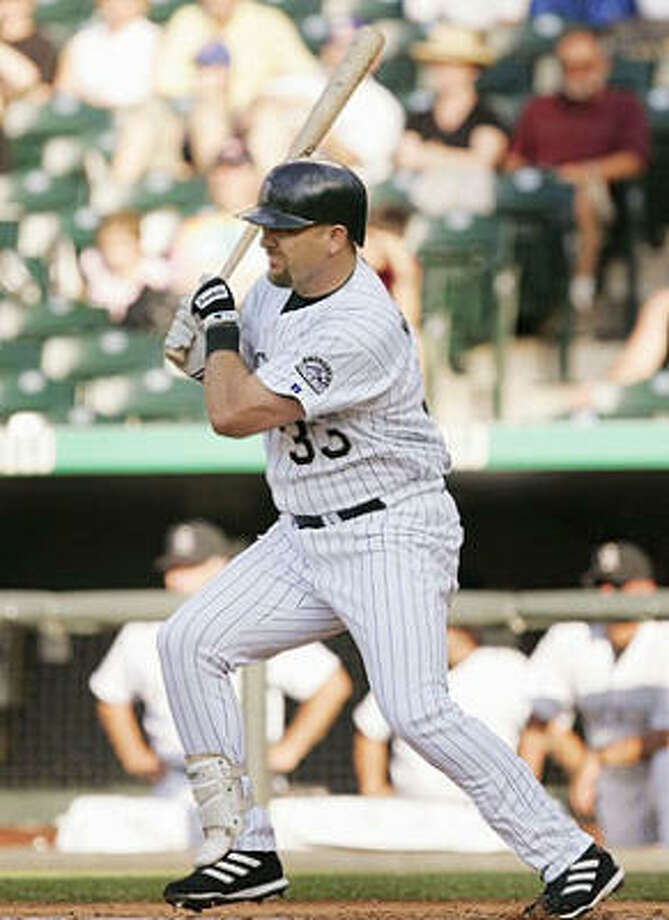Colorado Rockies – Larry WalkerIf you want to identify Mr. Rockies, then Todd Helton is your man. Helton is a .324 hitter with 333 homers and 1,239 RBI – with all 1,930 of his games coming with the Rockies. But anything Helton can do, Walker could do just a little better. Helton has three Gold Gloves, Walker five. Helton has a top-five finish in the MVP voting. Walker has an MVP award. While with the Rockies, Walker topped Helton in batting average (.334), on-base percentage (.426 to .424) and slugging (.618 to .555). And unlike Helton, Walker has proved he could put up elite numbers without having Coors Field inflate his stats. Photo: Brian Bahr, Getty Images