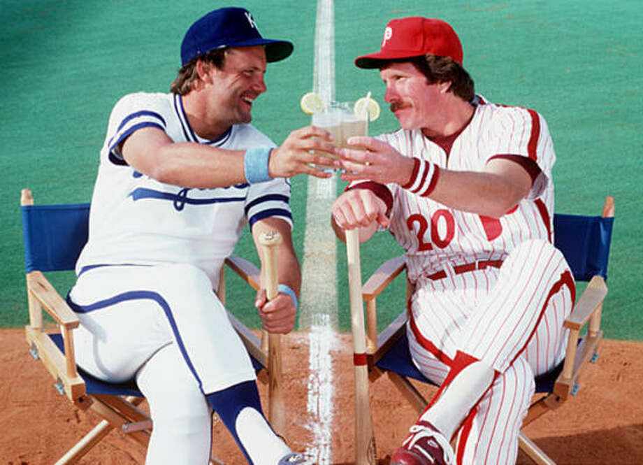 Kansas City Royals– George Brett An even easier call than Al Kaline with the Tigers. Brett, left, was such a pure, professional hitter who had a .305 career average, three batting titles and 3,154 hits. Though he reached 30 homers only once, he led the league in slugging three times – a testament to his ability to drive the ball for doubles and triples. He even made himself into a good enough defender to win a Gold Glove. He and Bret Saberhagen carried an otherwise pedestrian 1985 Royals team to a World Series title. Photo: Walter Looss Jr., Sports Illustrated