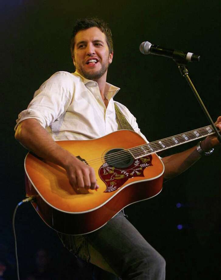 Musician Luke Bryan performs during the 43rd annual Academy Of Country Music Awards All-Star Jam held at the MGM Grand Hotel/Casino on May 18, 2008 in Las Vegas, Nevada.  (Photo by Ethan Miller/Getty Images for ACMA) Photo: Ethan Miller, Hearst / 2008 Getty Images