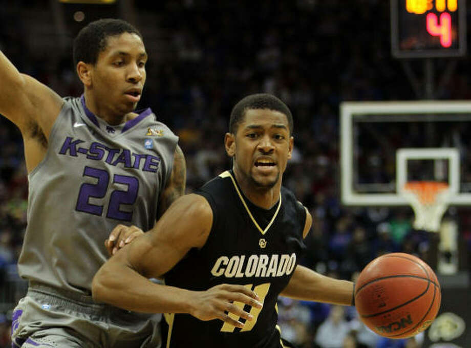 Second round: Colorado 87, No. 19 Kansas State 75 Cory Higgins Higgins scored 28 points as the Buffaloes made it three in a row over the Wildcats. Photo: Jamie Squire, Getty Images