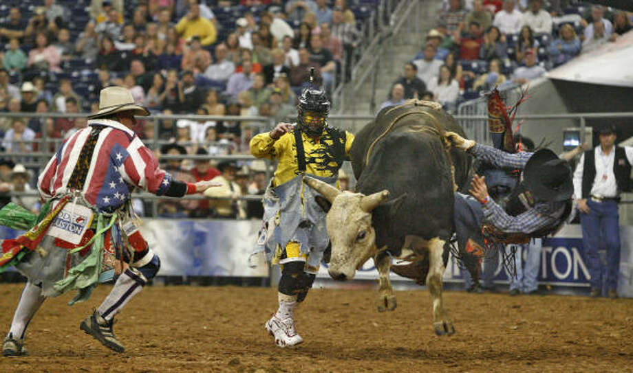 Ouch A Load Of Bull Houston Chronicle