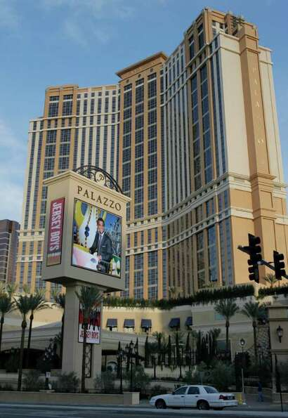 The Palazzo hotel-casino is shown on the Strip in Las Vegas, Wednesday, Jan. 16, 2008. The Palazzo h