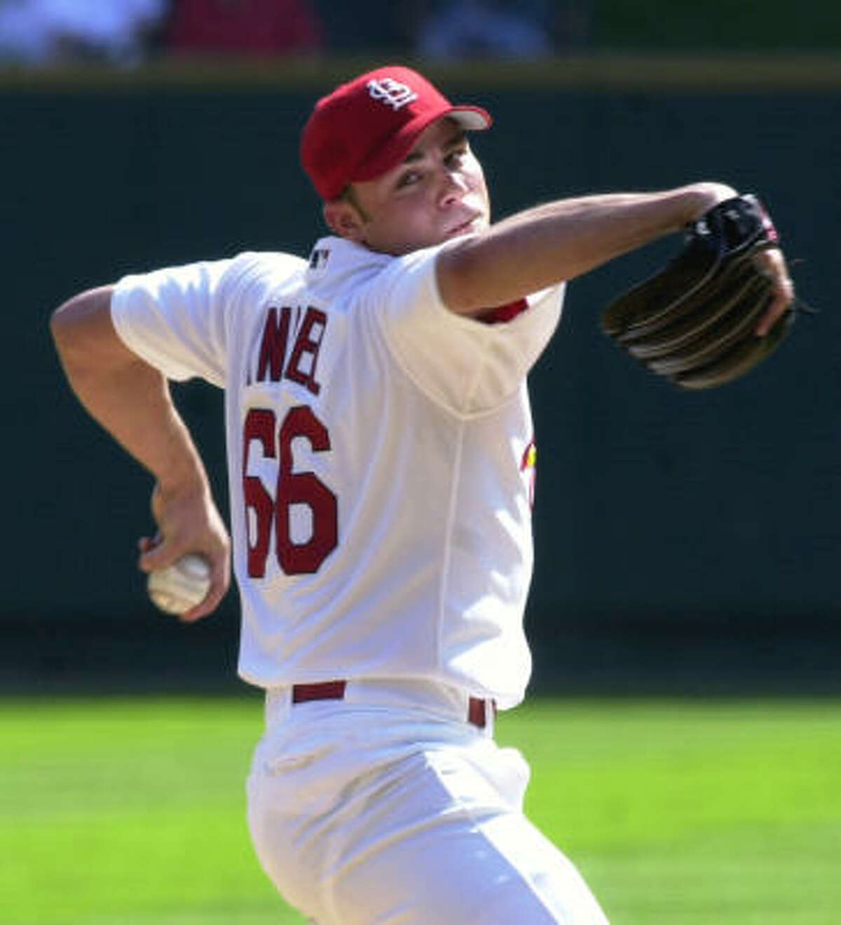 Rick Ankiel, St. Louis Cardinals Year: 2000 W-L: 11-7 ERA: 3.50 Starts: 31 IP: 175 BB: 90 Ks: 194
