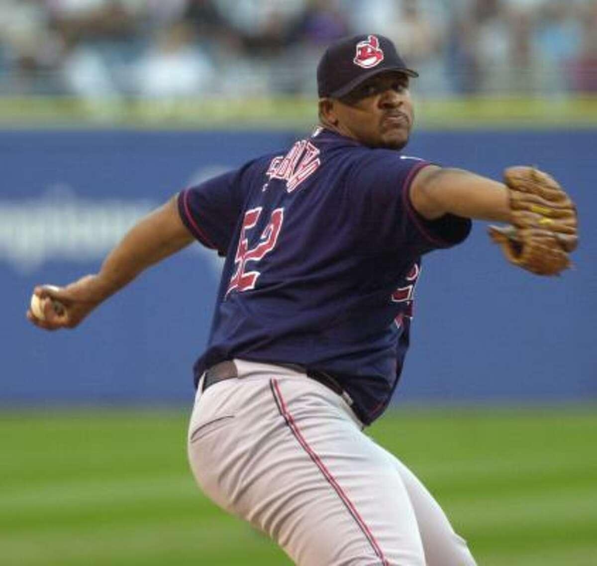 CC Sabathia, Cleveland Indians Year: 2001 W-L: 17-5 ERA: 4.39 Starts: 33 IP: 180.1 BB: 95 Ks: 171