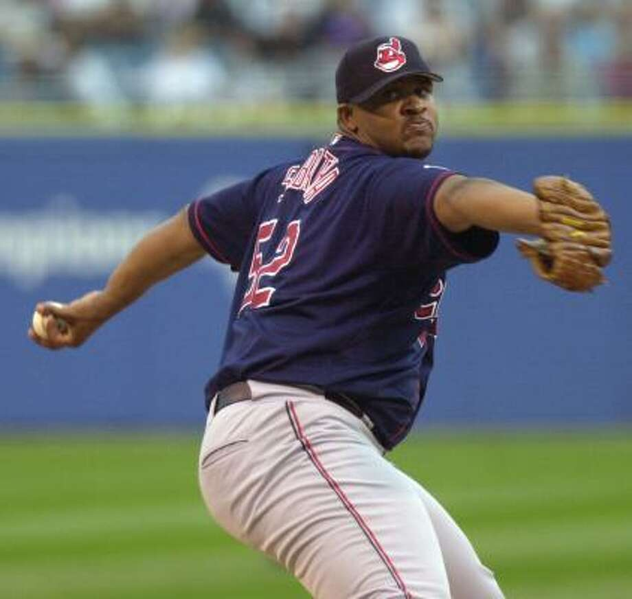 CC Sabathia, Cleveland Indians Year: 2001 W-L: 17-5 ERA: 4.39 Starts: 33 IP: 180.1 BB: 95 Ks: 171 Photo: BRIAN KERSEY, AP