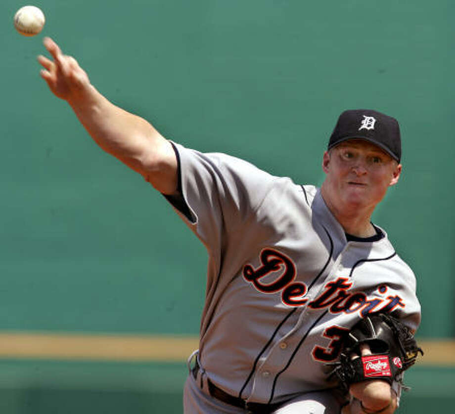 Jeremy Bonderman, Detroit Tigers Year: 2003 W-L: 6-19 ERA: 5.56 Starts: 33 IP: 162 BB: 58 Ks: 108 Photo: GENE J. PUSKAR, AP