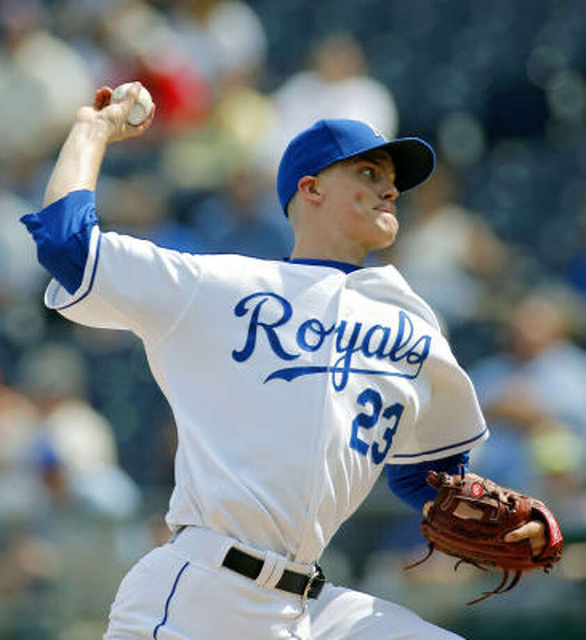 Zack Greinke, Kansas City Royals Year: 2004 W-L: 8-11 ERA: 3.97 Starts: 24 IP: 145 BB: 26 Ks: 100 Photo: JOHN SLEEZER, MCT