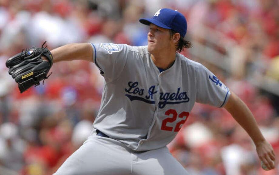 Clayton Kershaw, Los Angeles DodgersYear: 2008 W-L: 5-5 ERA: 4.26Starts: 22 IP: 107.2 BB: 52 Ks: 100 Photo: Kyle Ericson, AP