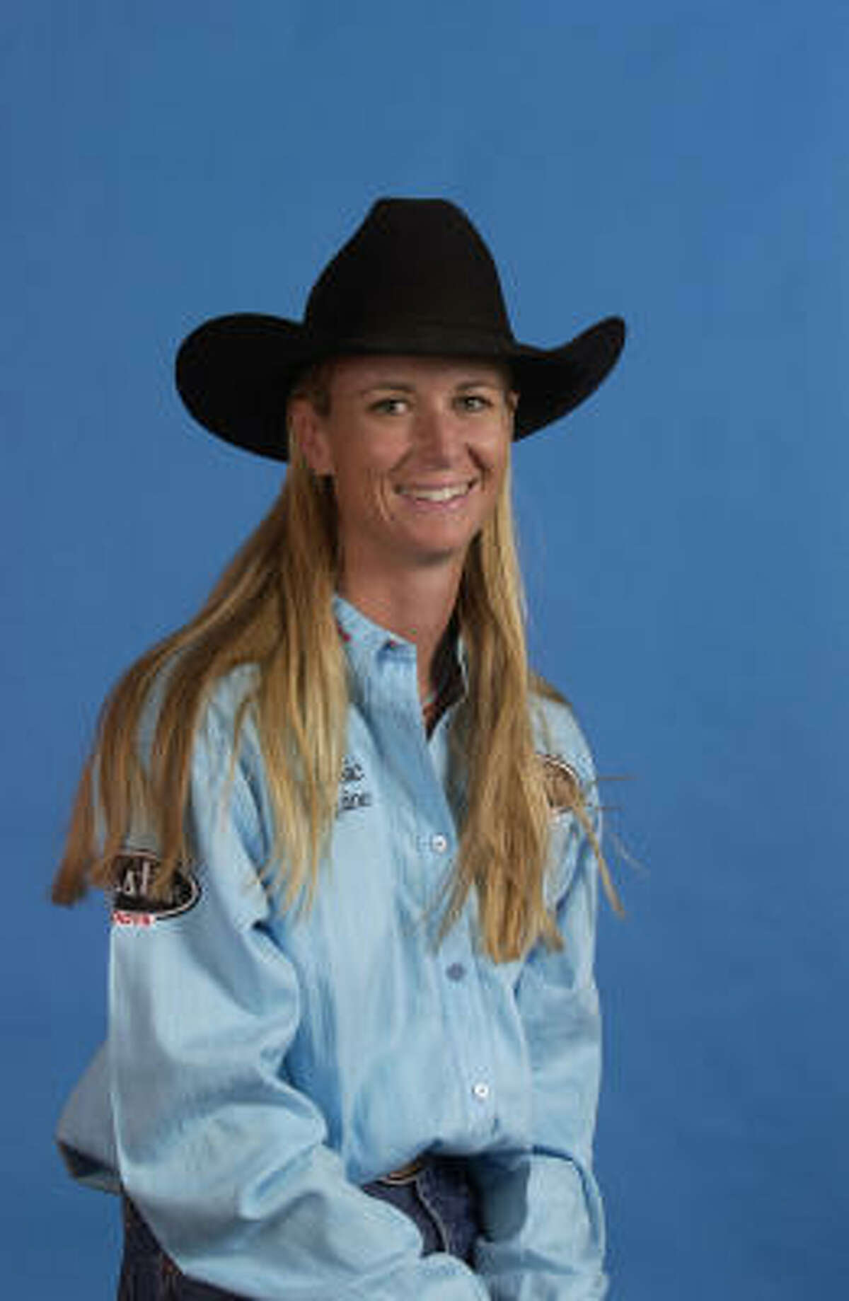 Sherry Cervi The Arizona racer is at the top of the barrel, so to speak. Last year she took the top prize at the National Finals Rodeo and has been on the winning end of many competitions throughout her career. In Houston, she has taken top honors four times.