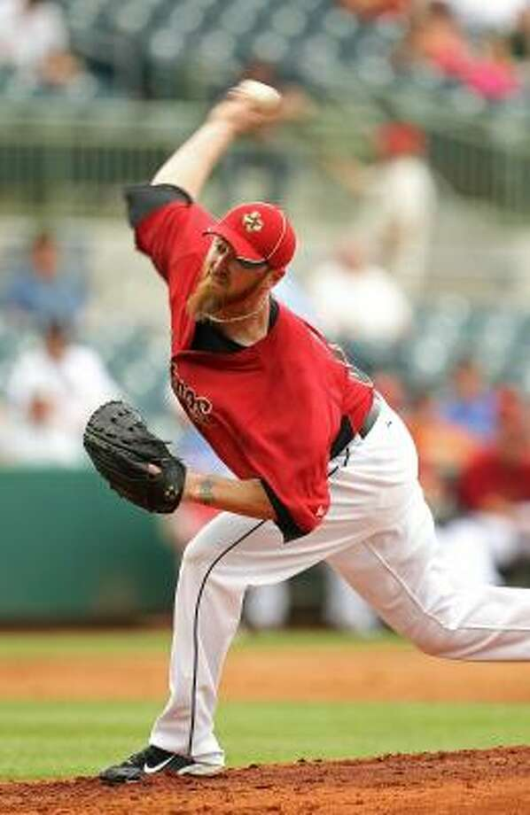 Brett  Myers went 14-8 with a 3.14 earned run average last season. Photo: Mike Ehrmann, Getty Images