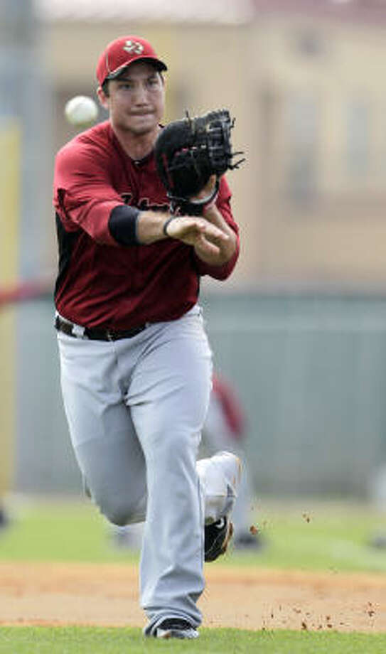Infielder Brett Wallace looks to make an impact this season for the Astros. Photo: Karen Warren, Chronicle