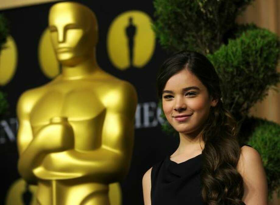 Hailee Steinfeld, 14, Best Supporting Actress nominee (True Grit, 2010) Photo: Kevin Winter, Getty Images