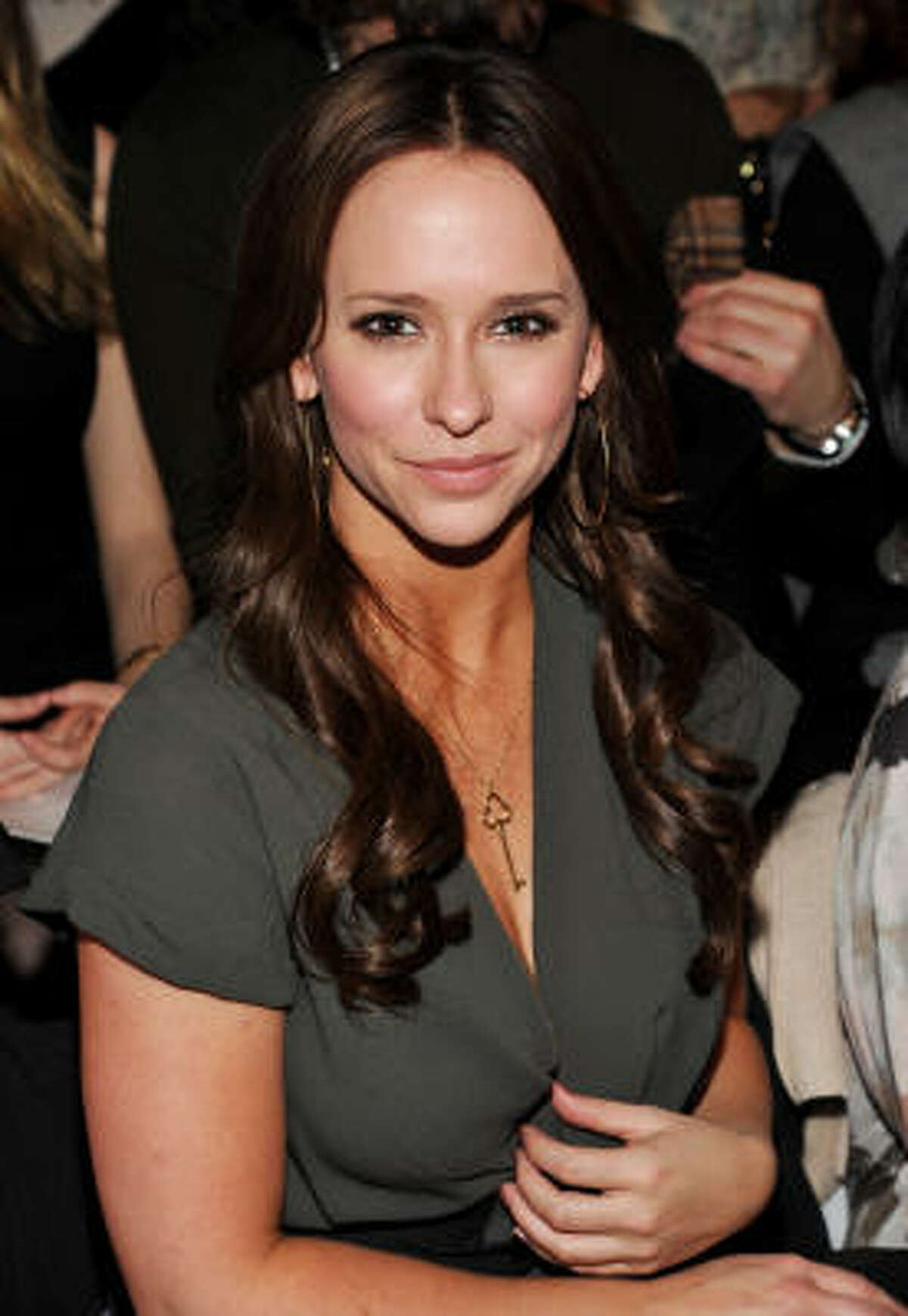 Actress Jennifer Love Hewitt attends the BCBGMAXAZRIA Fall 2011 fashion show at Mercedes-Benz Fashion Week on Thursday, Feb. 10, 2011 in New York.