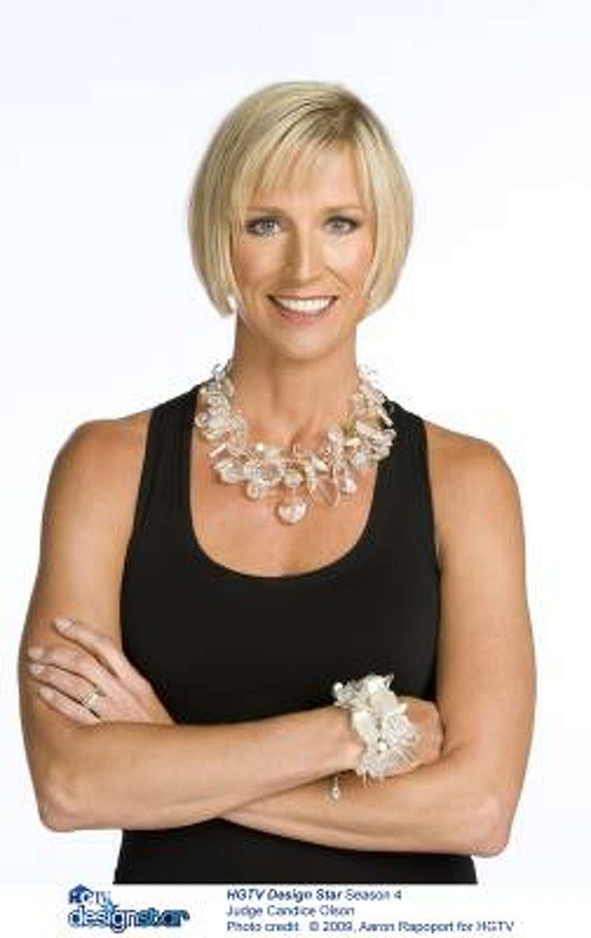 CANDICE OLSON, interior designer/host,
