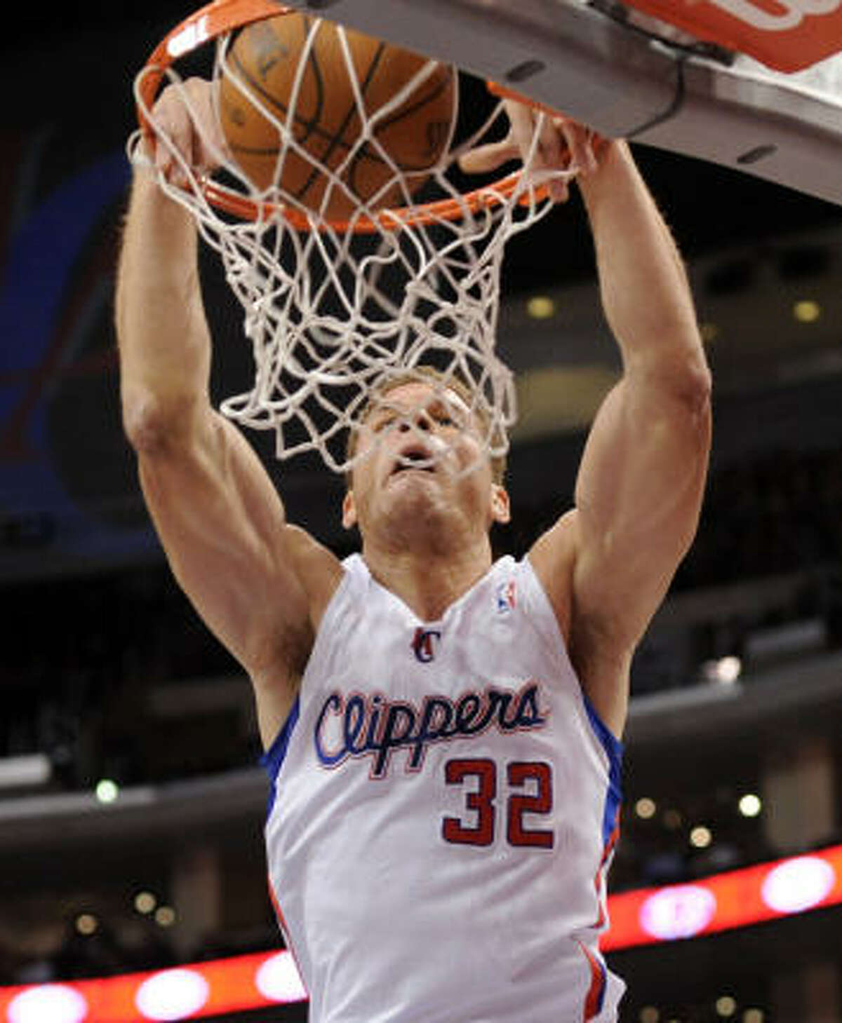 Blake Griffin, Clippers Dunks: 99 Pct. of made shots: 26.6%