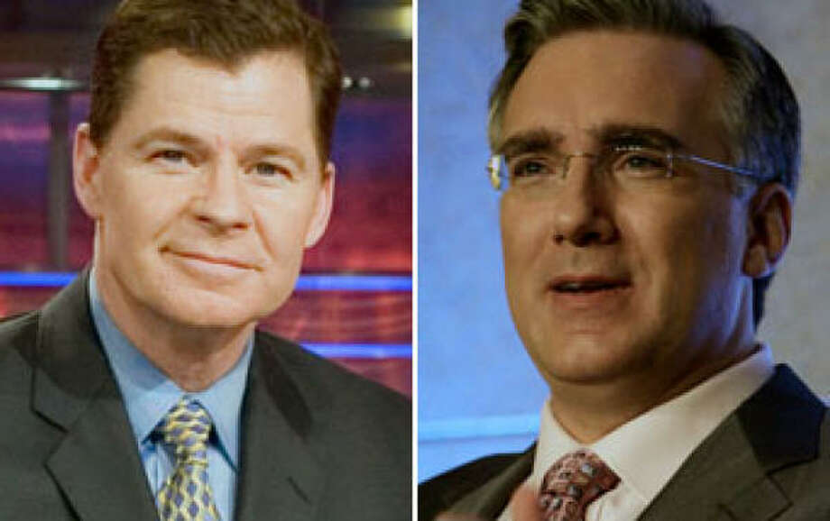 Dan Patrick, left, and Keith Olbermann haven't been paired on air since Olbermann's departure from ESPN. Photo: FILE PHOTOS