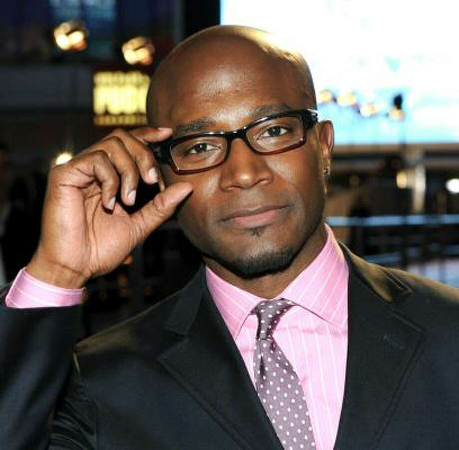 It takes finesse to pull off the pink, but Taye Diggs does it in style. Photo: Frazer Harrison, Getty Images For PCA