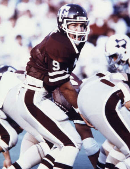Kubiak had 31 career touchdowns as the Aggies' quarterback.