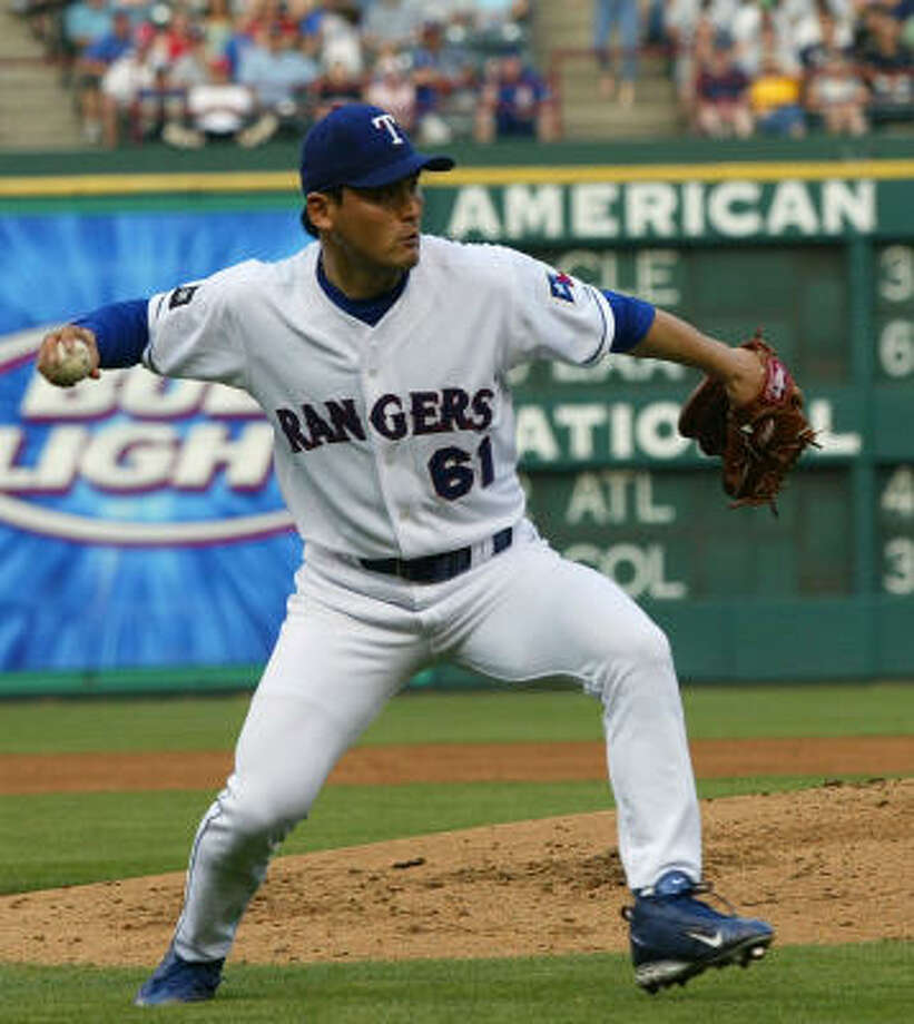 Chan Ho Park is expected to make at least three starts at Class AAA Round Rock. Photo: DONNA McWILLIAM, AP