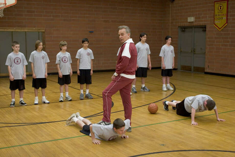 Billy Bob Thornton plays the stereotypical bully PE teacher in Mr. Woodcock. Photo: Tracy Bennett, New Line Cinema