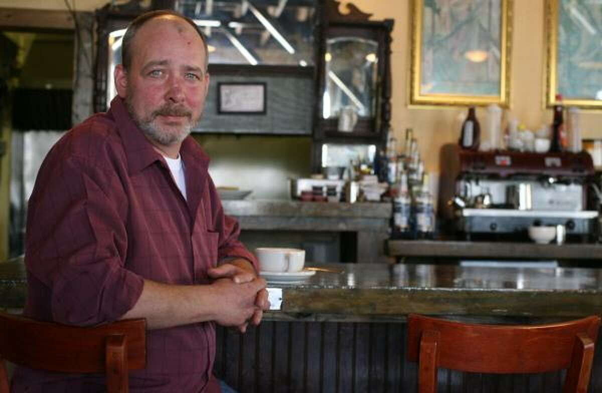 Jack Gregory kept The Daily Grind, his Washington Avenue eatery, up and running despite losing power.