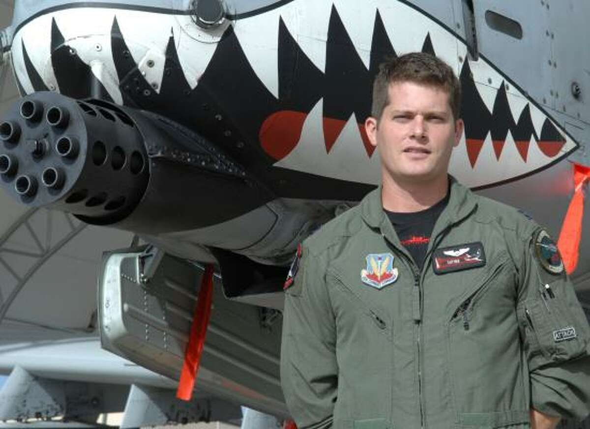 Air Force Capt. Brian Erickson, who has wanted to fly as long as he can remember, received the Distinguished Flying Cross with Valor for a nighttime mission on his second tour in Afghanistan.