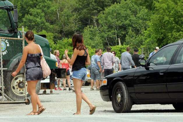 "The set of ""The Place Beyond The Pines"" off Route 5 in Glenville, NY Thursday July 28,2011.( Michael P. Farrell/Times Union) Photo: Michael P. Farrell"