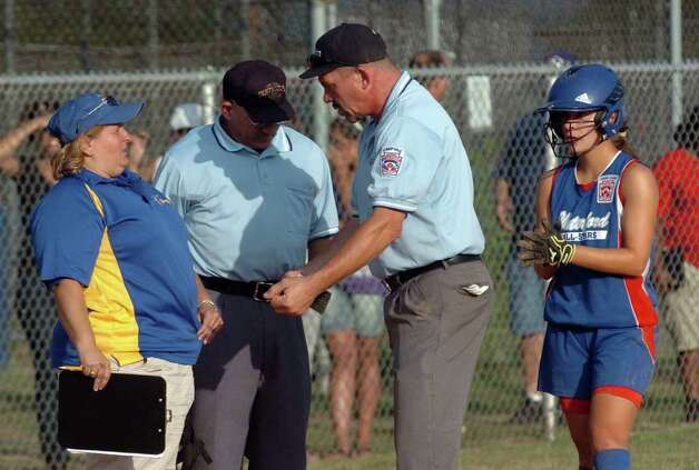 Highlights from little league softball championship action between Black Rock and Waterford in West Haven, Conn. on Thursday July 28, 2011. Photo: Christian Abraham / Connecticut Post