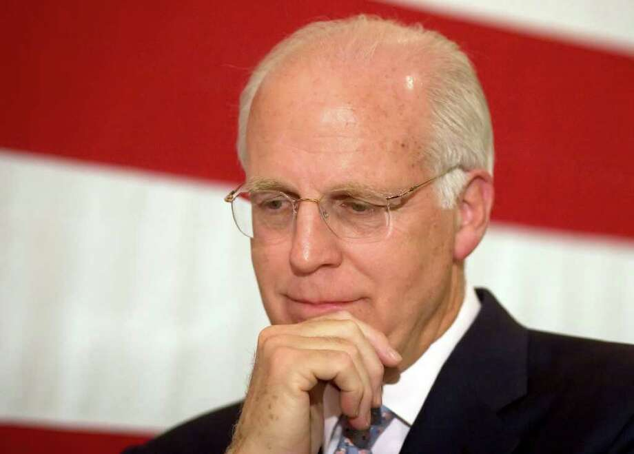Former U.S. Rep. Christopher Shays, R-Conn., shown here in 2009. Photo: File Photo / Connecticut Post File Photo