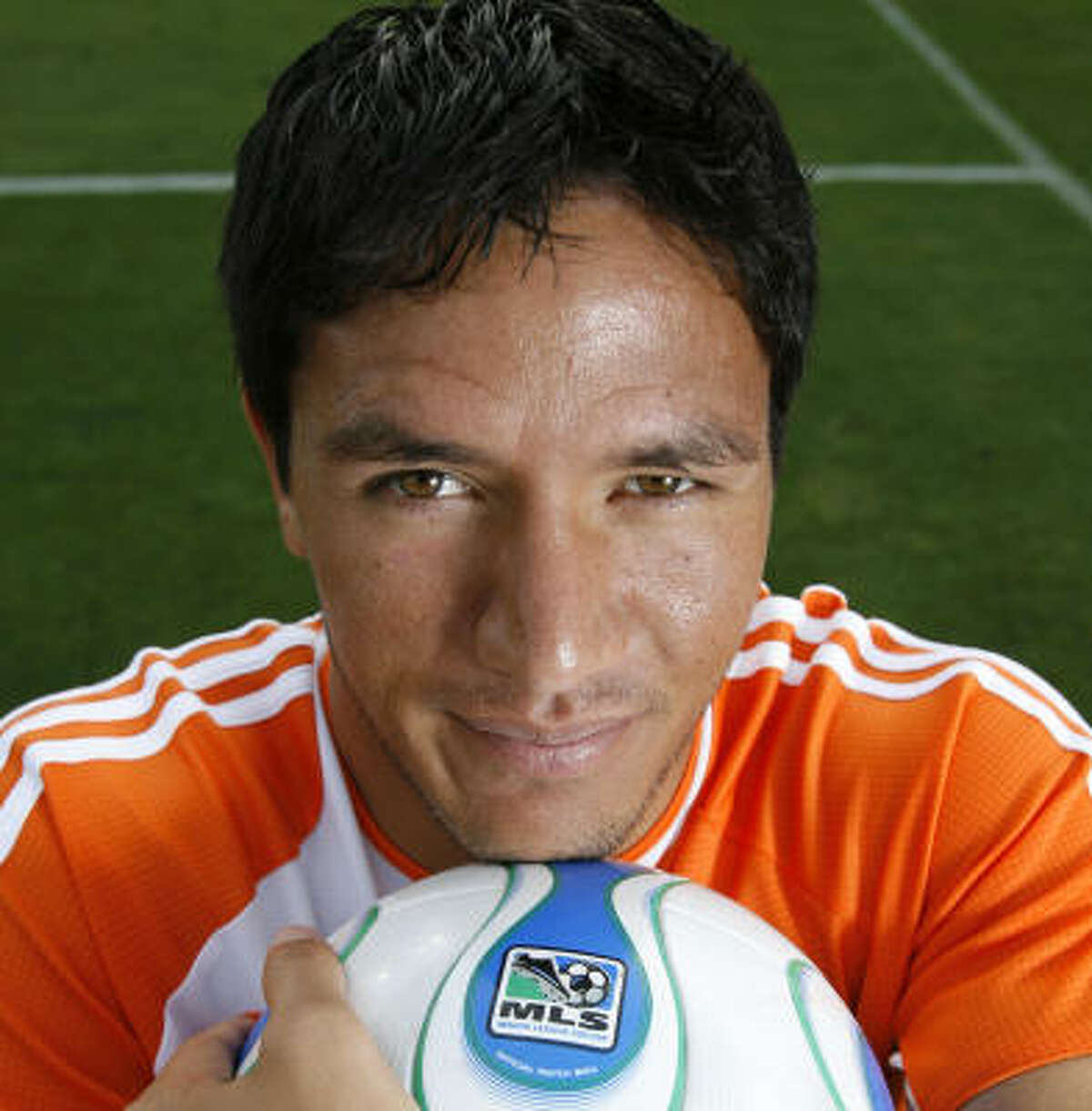 Dynamo with cover-boy potential: Brian Ching
